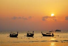 Salida del sol en Tailandia Imagenes de archivo
