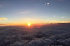 Salida del sol en un parque nacional más lluvioso del Mt Fuji, Japón imágenes de archivo libres de regalías