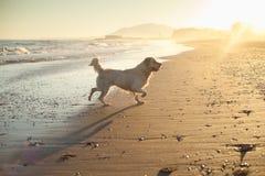 Salida del sol en una playa en España Foto de archivo