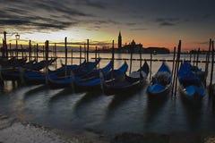 Salida del sol en Venecia imagen de archivo