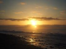 Salida del sol encantadora Foto de archivo libre de regalías