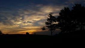 Salida del sol erudita Imagen de archivo