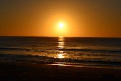 Salida del sol espectacular fotografía de archivo