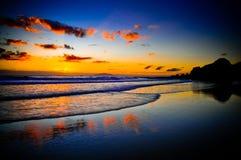 Salida del sol hermosa Fotografía de archivo libre de regalías