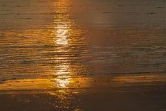Salida del sol hermosa Foto de archivo