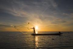 Salida del sol hermosa fotografía de archivo