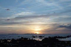 Salida del sol hermosa imagenes de archivo