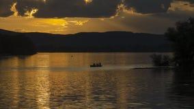 Salida del sol hermosa en verano Fotos de archivo