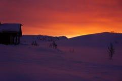 Salida del sol I fotografía de archivo libre de regalías