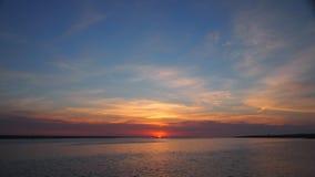 Salida del sol inocente de la primavera Foto de archivo libre de regalías