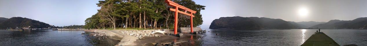 Salida del sol japonesa Fotos de archivo libres de regalías