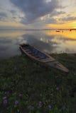 Salida del sol Jubakar Tumpat Foto de archivo libre de regalías