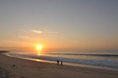 Salida del sol Los Cabos México Imagenes de archivo