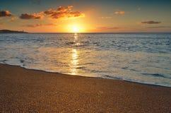 Salida del sol mágica Fotografía de archivo libre de regalías