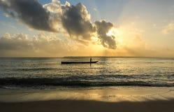 Salida del sol magnífica Fotos de archivo libres de regalías