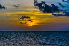 Salida del sol mexicana Foto de archivo libre de regalías