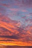 Salida del sol por la mañana Imagen de archivo