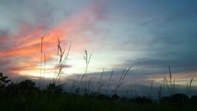 salida del sol, primera luz Foto de archivo