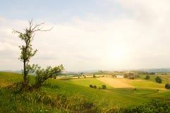 Salida del sol rural imágenes de archivo libres de regalías