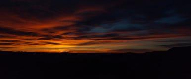 Salida del sol sobre Bryce Canyon, Utah foto de archivo