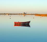 Salida del sol sobre el puerto en Chatham, bacalao de cabo Fotografía de archivo libre de regalías