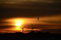 Salida del sol sobre Kegnaes Fotografía de archivo