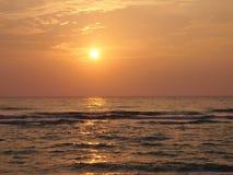 Salida del sol sobre Miami Beach fotografía de archivo libre de regalías
