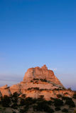 Salida del sol sobre Zion Foto de archivo libre de regalías