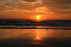 Salida del sol St Augustine, FL, los E.E.U.U. Imagenes de archivo