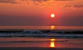 Salida del sol St Augustine, FL, los E.E.U.U. Fotografía de archivo libre de regalías