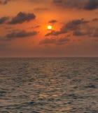 Salida del sol suave del foco de la falta de definición Foto de archivo