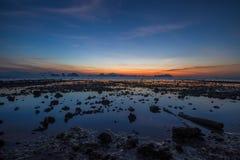 Salida del sol Tailandia fotos de archivo