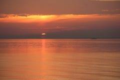 Salida del sol temprano por la mañana foto de archivo