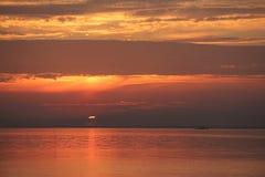 Salida del sol temprano por la mañana fotografía de archivo libre de regalías