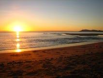 Salida del sol tropical Fotografía de archivo