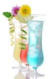 Salida del sol tropical del tequila de Martini de las bebidas de las bebidas de los cócteles Imagenes de archivo