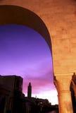 Salida del sol tunecina imagen de archivo libre de regalías