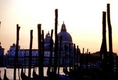 Salida del sol Venecia, Italia Imagenes de archivo