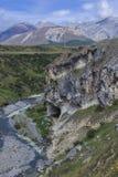 Salida Nueva Zelanda de la corriente de la cueva imagen de archivo libre de regalías