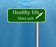 Salida siguiente de la vida sana. Fotografía de archivo