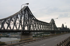 Saligny Brücke - ROHES Format stockfotos
