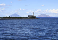 Salina and Aeolian Islands, Italy Stock Photo