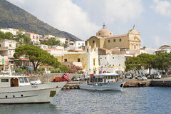 Salina, Italy Royalty Free Stock Image