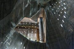 Salina Turda Salt Mine Arkivbilder