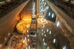 Salina Turda Salt Mine Fotografering för Bildbyråer