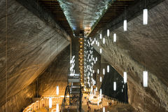 Salina Turda Salt Mine Stock Images