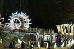 Salina Turda Salt Mine Royalty Free Stock Images