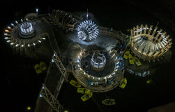 Salina Turda salt mine in Romania Royalty Free Stock Images