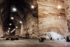 Salina Veche Salt Mine, Romania Stock Photography