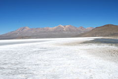 Salinas. Salt sea in Arequipa, Peru Stock Image